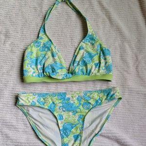 Lilly Pulitzer bikini in Crab print 🦀🐚 size 8